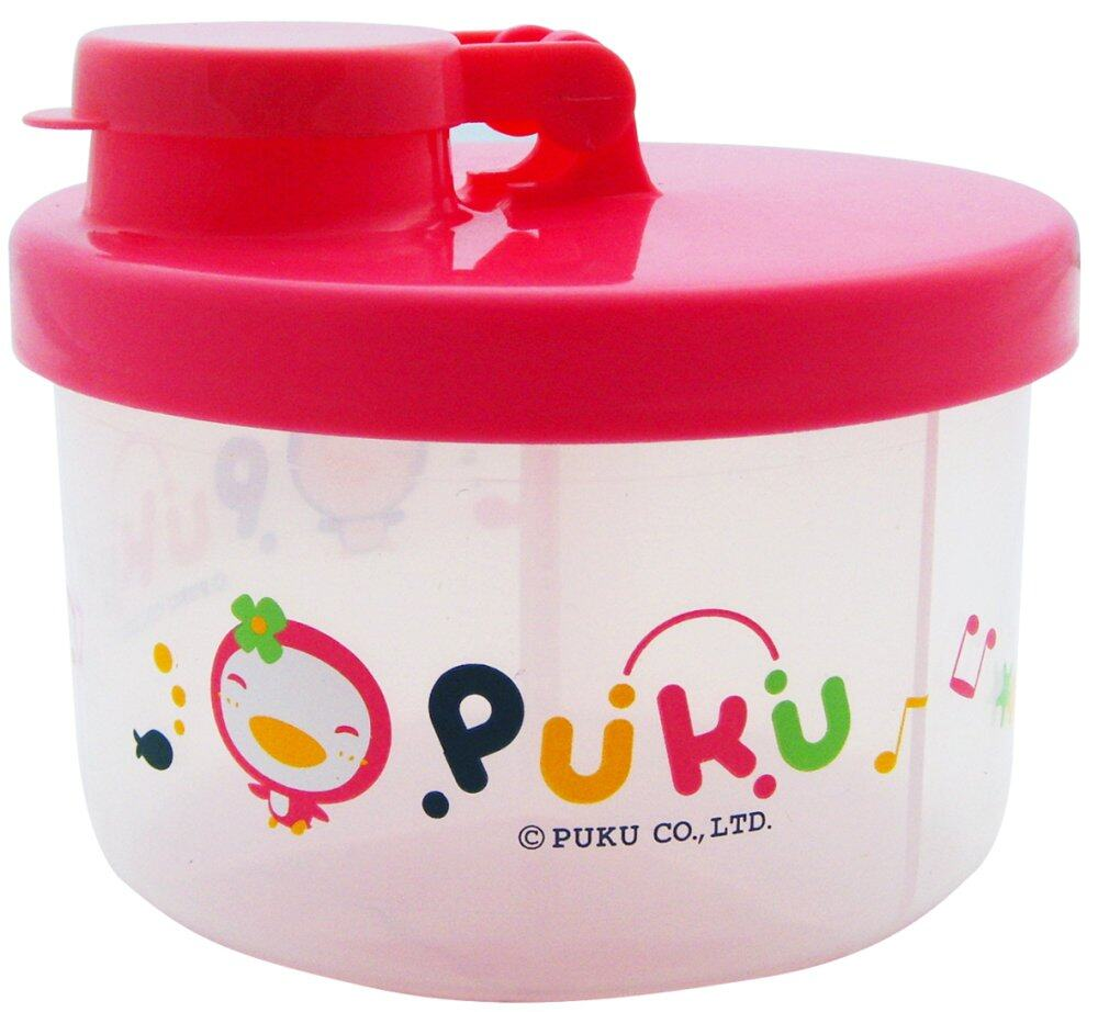 PUKU Baby Milk Powder Container Dispenser 100ml / Layer Pink