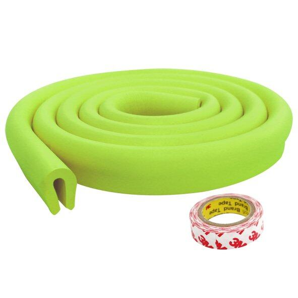 PUKU U Shape Childproofing Desk Edge Corner Guard Cushion- Child Home Safety Furniture/Table Edge Corner Protectors Green