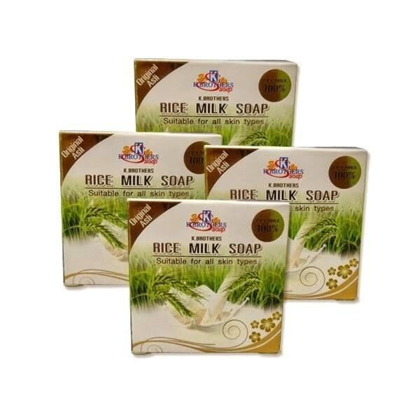 Pure Rice Milk Soaps X 4
