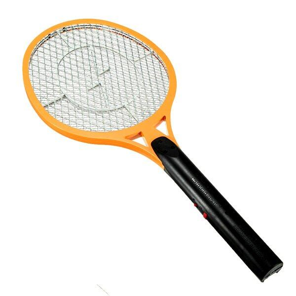 Rechargeable Electronic Mosquito Racket (Yellow)