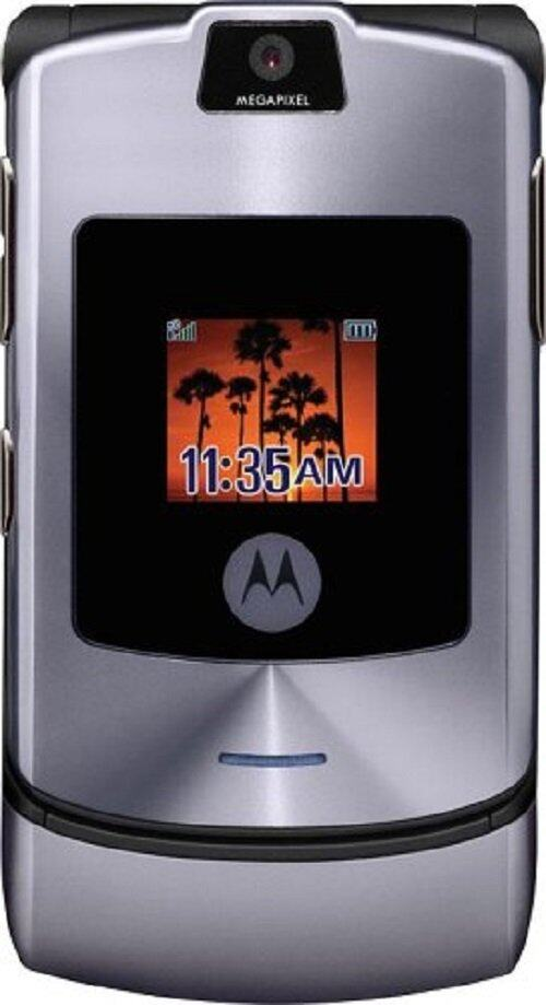 (REFURBISHED) Motorola V3i RAZR Grey [Grade B]