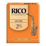 Rico Alto Saxophone Reeds 2.5 (10/pack)