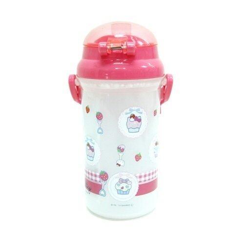 Sanrio Hello Kitty 500ML Water Bottle - Light Red Colour