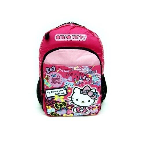 d017c2de401c Sanrio Hello Kitty Small Backpack 12 Inches - Pink And Black Colour