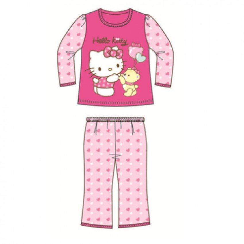 Sanrio Hello Kitty Homewear 100% Cotton 1yrs to 6yrs - Fuschia Colour