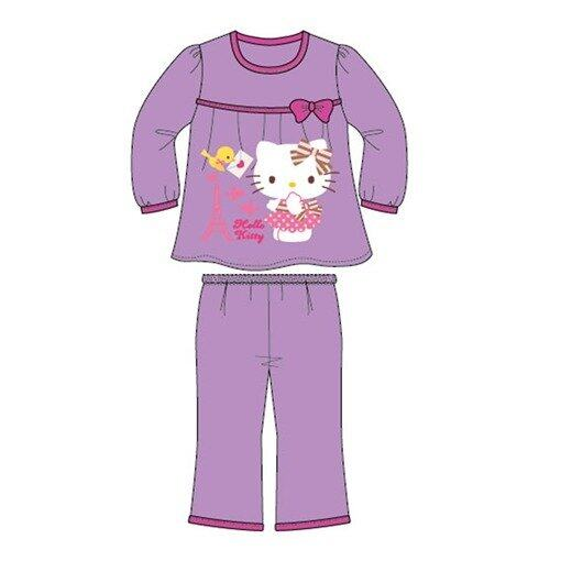 Sanrio Hello Kitty Homewear 100% Cotton 4yrs to 12yrs - Purple Colour