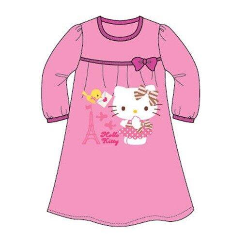 Sanrio Hello Kitty Homewear Dress 100% Cotton 4yrs to 12yrs - Fuschia Pink Colour