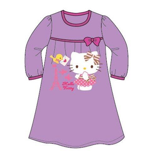 Sanrio Hello Kitty Homewear Dress 100% Cotton 4yrs to 12yrs - Purple Colour