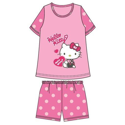 Sanrio Hello Kitty Love Adult Ladies Homewear 100% Cotton Free Size - Pink Colour