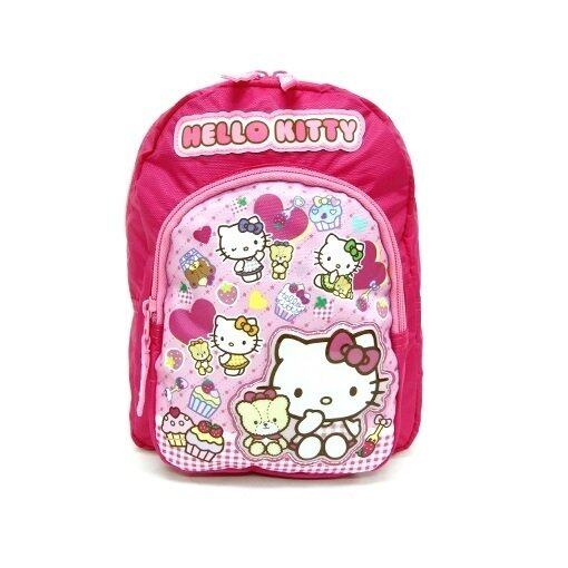 Sanrio Hello Kitty Small Backpack 8 Inches - Pink And Light Pink Colour