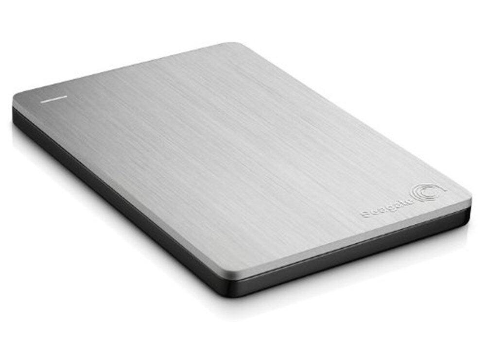 Seagate Slim 500GB Portable External Hard Drive Silver