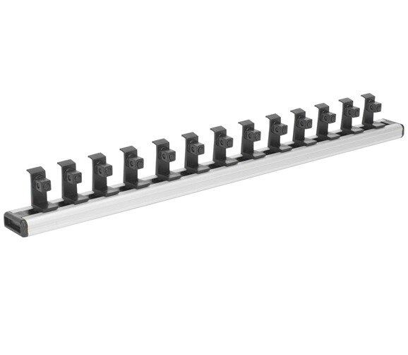 "Sealey Magnetic Socket Holder Rail 3/8""Sq Drive"