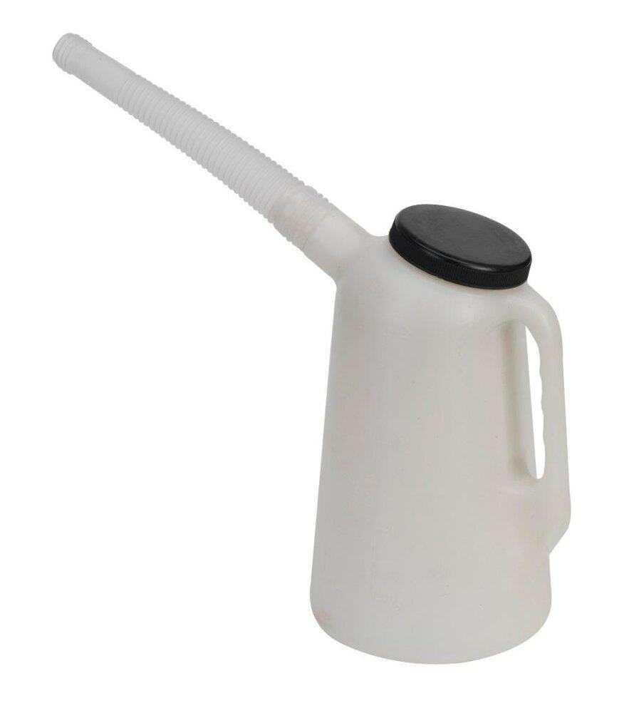 Sealey Oil Container With Lid & Flexi-spout 2ltr