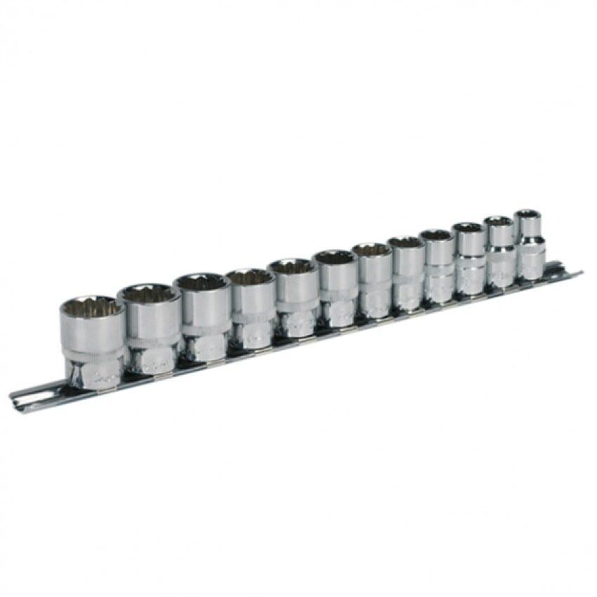 (Clearance) Sealey Sealey Socket Set 12Pc 3/8 Sq Drive 12Pt Walldrive Metric [Showroom Unit]