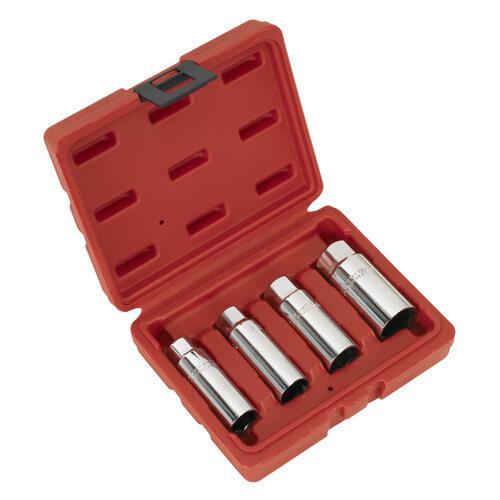 "Sealey Spark Plug Socket Set 4pc 3/8""Sq Drive"
