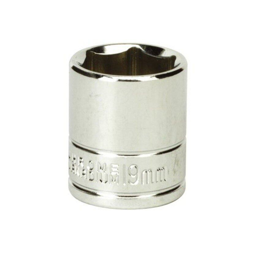 "Siegen WallDrive® Socket 19mm 3/8""Sq Drive"