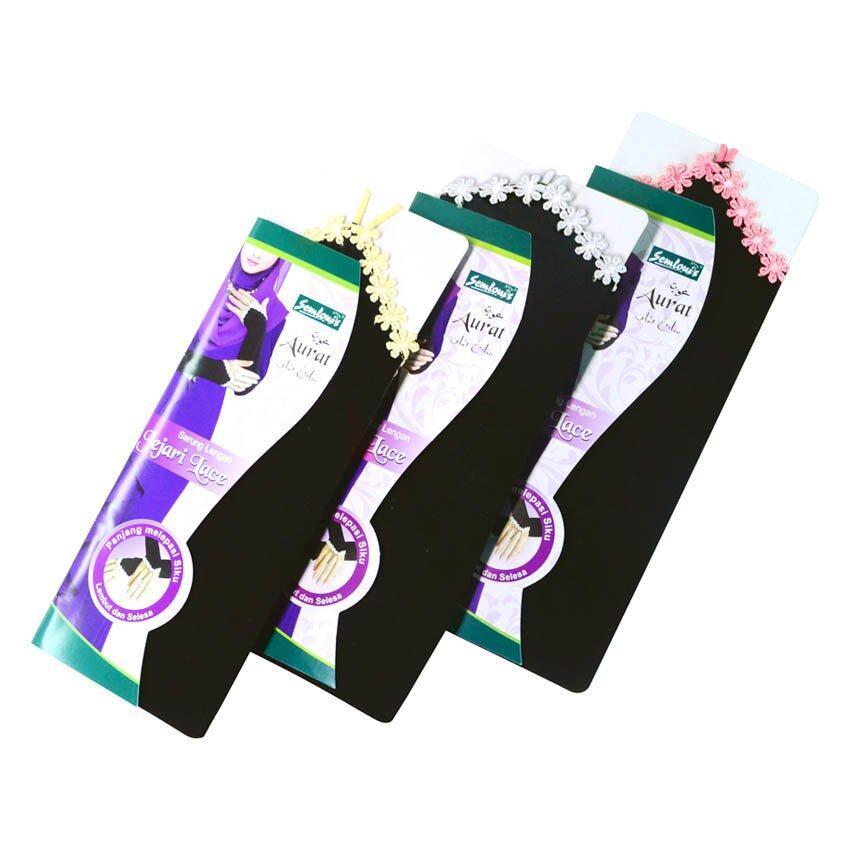 Semlouis Aurat Handsock Finger Lace Set of 3(Multicolor)