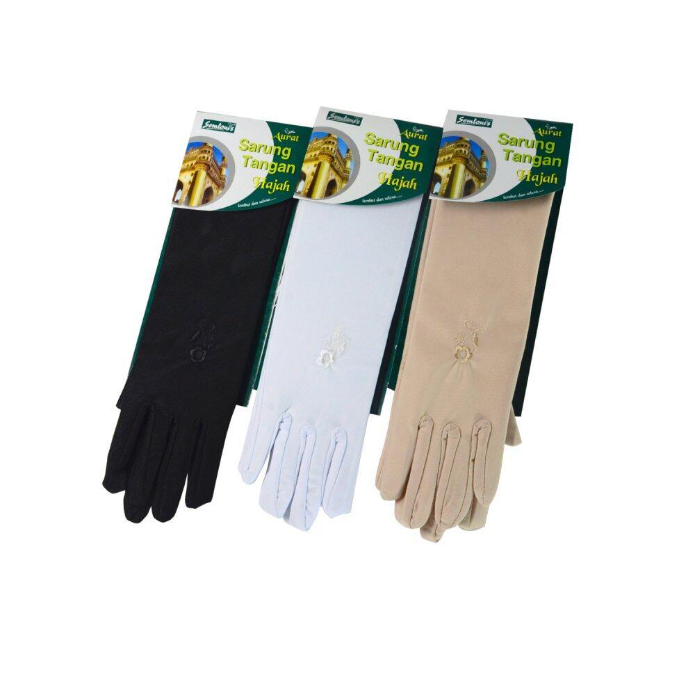 Semlouis Aurat Sarung Tangan Hajah (Panjang) - 3 pairs