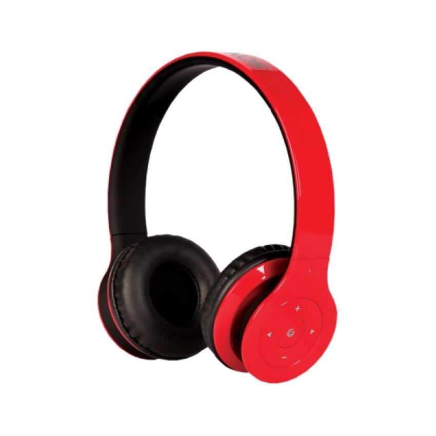 Sonic Gear BC10000/2U Airphone V Bluetooth Headset (Red)