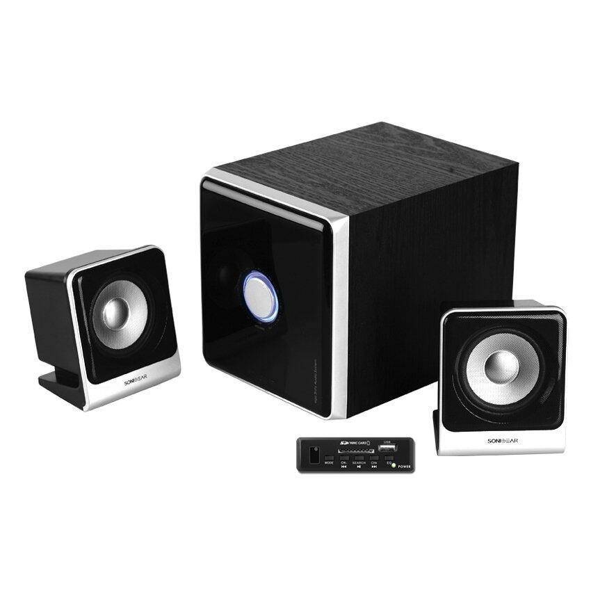 Sonic Gear Ego 3Nity Sdu 2.1 Multimedia Speaker (Black)
