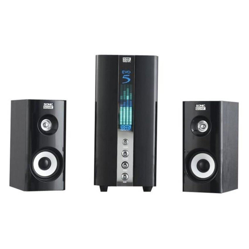 Sonic Gear Evo 5 Pro 2.1 Multimedia Speaker (Black)