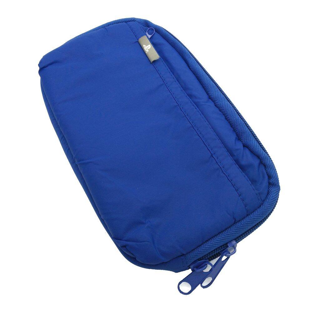 Sponge Waterproof bag Pouch Protection For Sony Psp1000 Psp2000 Psp3000 Psv (Blue)