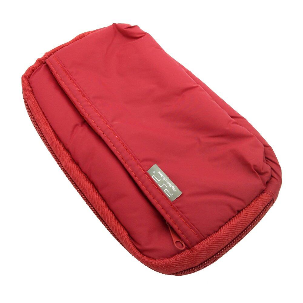 Sponge Waterproof bag Pouch Protection For Sony Psp1000 Psp2000 Psp3000 Psv (Red)