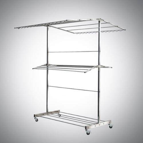Stainless Steel 304 (18-8) Fold-able Chothes Hanger 4ft