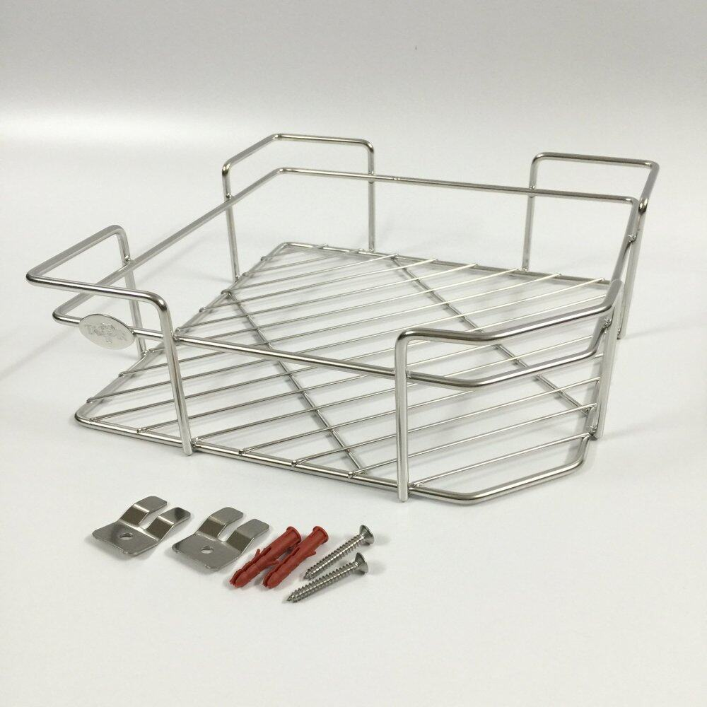 Stainless Steel 304 (18-8) Single Squre Corner Rack