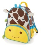 TEEMI Animal Design School Bag / Backpack for Kids - Giraffe Print
