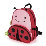 TEEMI Animal Design School Bag / Backpack for Kids - Red Ladybug