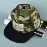 TEEMI Snapback Hip Hop Hats Adjustable Baseball Cap DGK - Camouflage