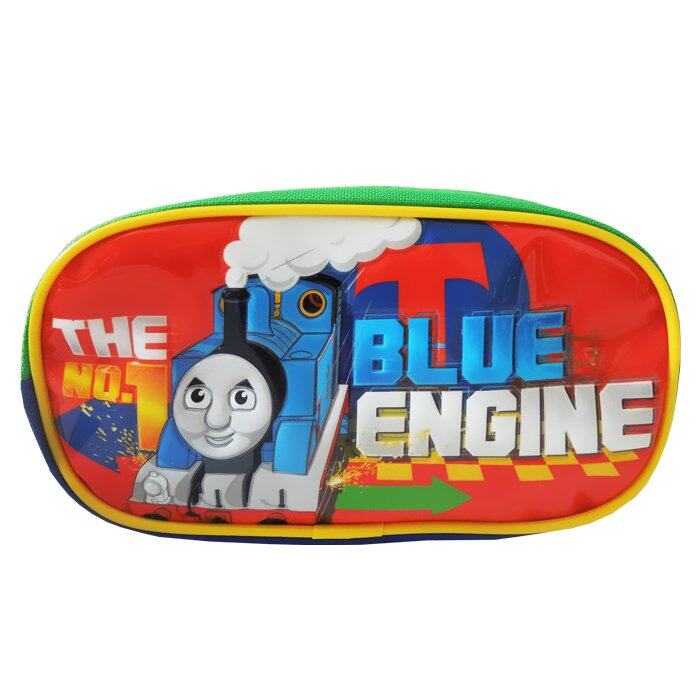 Thomas And Friends Oval Pencil Bag - Red Colour