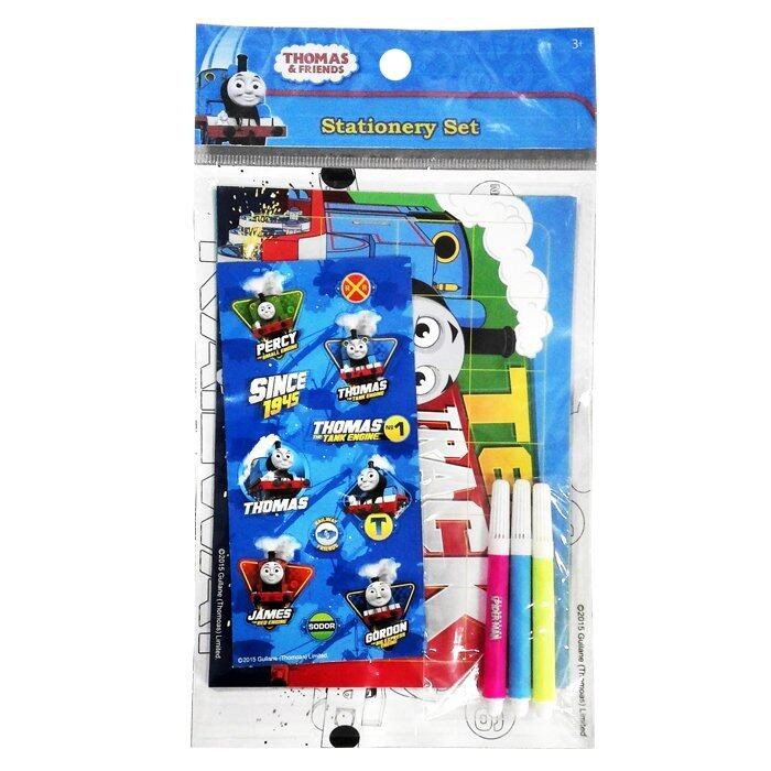 Thomas And Friends Stationery Set - Blue Colour