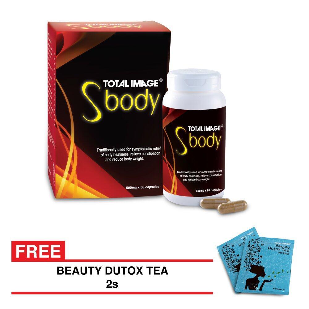 Total Image S Body 60 capsules FREE Beauty Dutox Tea 2 sachets