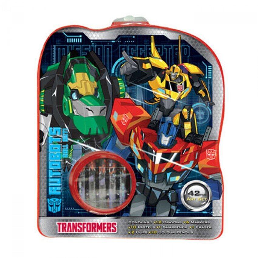 Transformers 42pcs Art Set - Red Colour