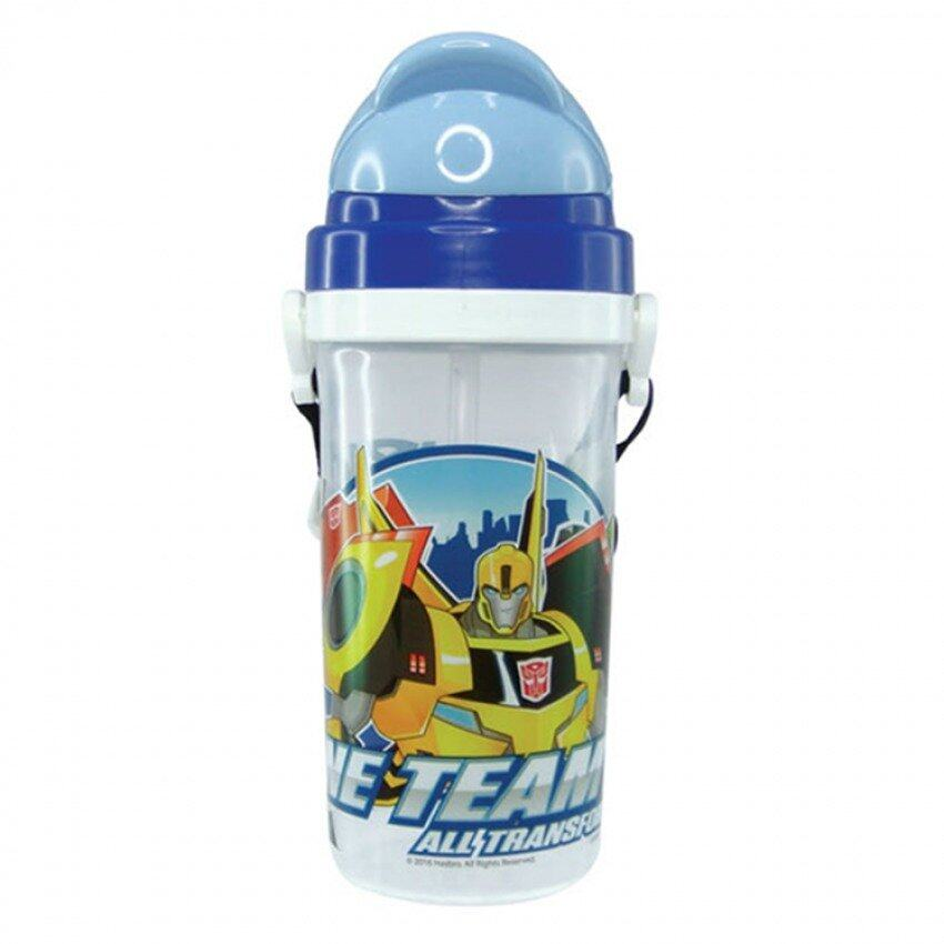 Transformers 500ML Water Bottle - Blue Colour