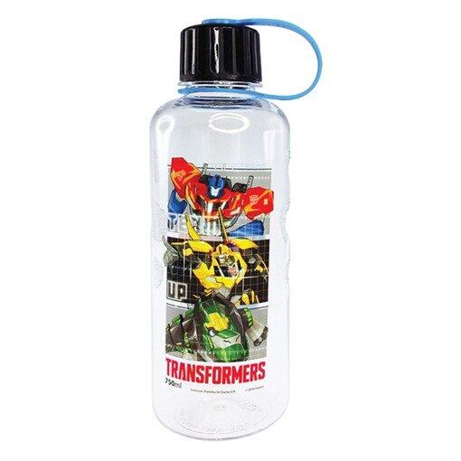 Transformers 750ML Polycarbonate Bottle - Blue Colour