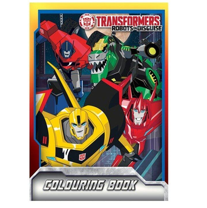 Transformers Prime Colouring Book Set