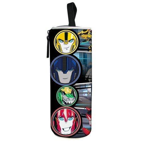 Transformers Round Pencil Bag - Black Colour
