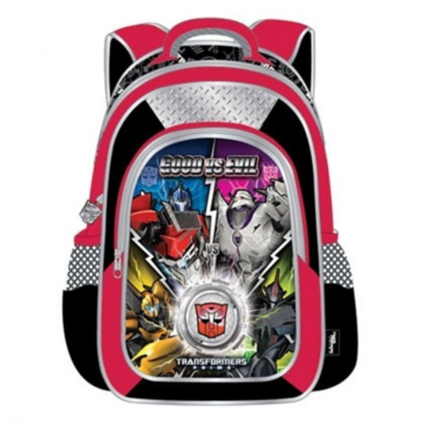 Transformers School Bag - Red Colour