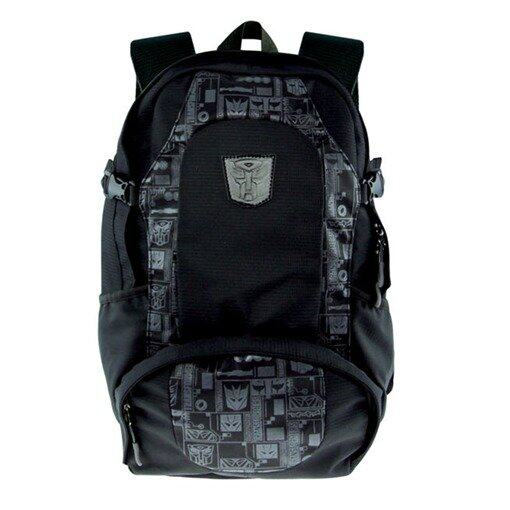 Transformers Teenager Backpack - Black Colour