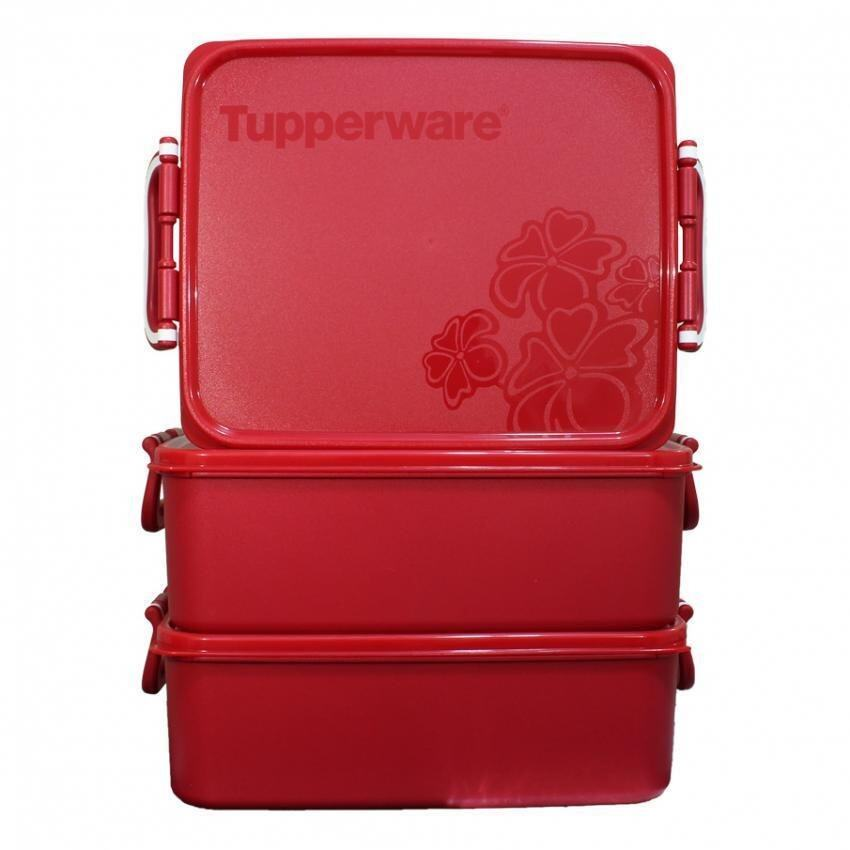 Tupperware Level Big Party Packer Set (3pcs) - Limited Release