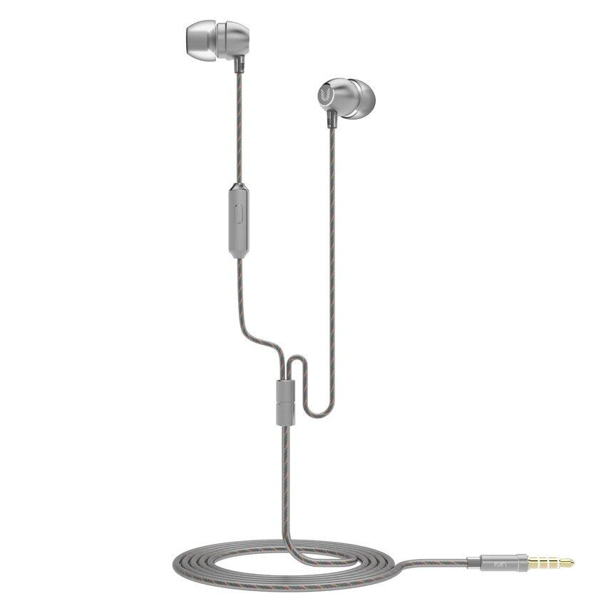 UiiSii HM7 High Performance Sound Quality In-Ear Earphones with Mic (Grey)