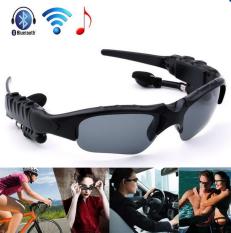 ซื้อ V4 1 Outdoor Sports Bluetooth Earphone Glasses Stereo 7 In 1 Photo Call Music Voice Warn Smart Glasses Color Coffee Bt ออนไลน์