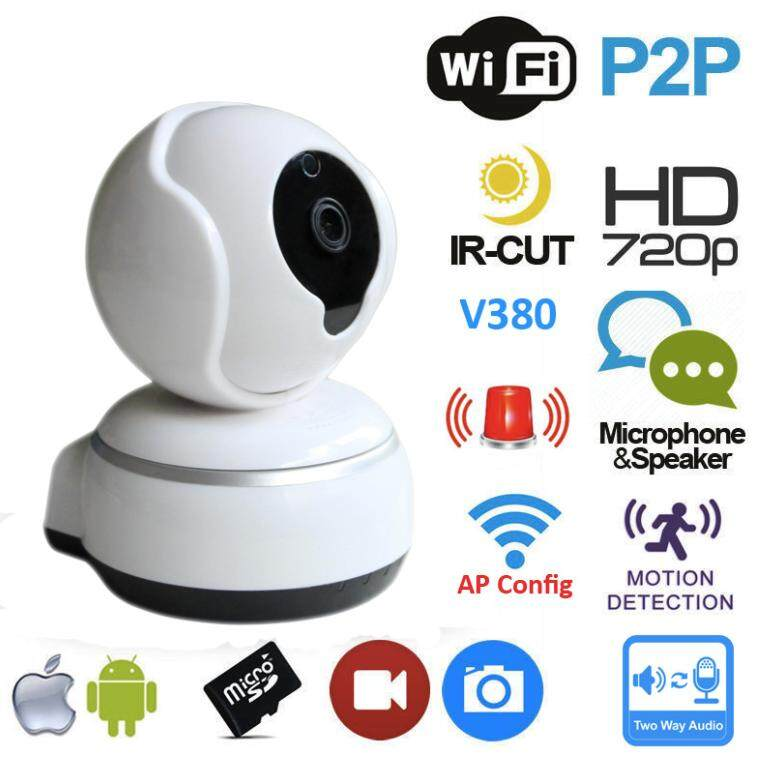 Generic Dome Camera Cloud Wireless IP Security Surveillance System
