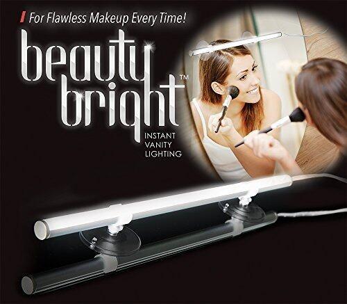 Beauty Bright Instant Vanity Lighting Dimmable LED Mirror Light Portable Vanity Lights - Direct Sunlight - intl